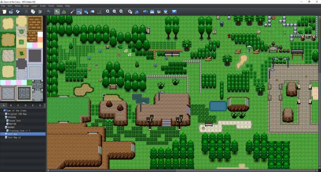 Rpg maker MZ custom pokemon tilesets preview 2