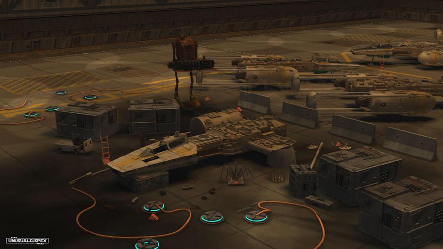 Hangar Queen 499 by unusualsuspex