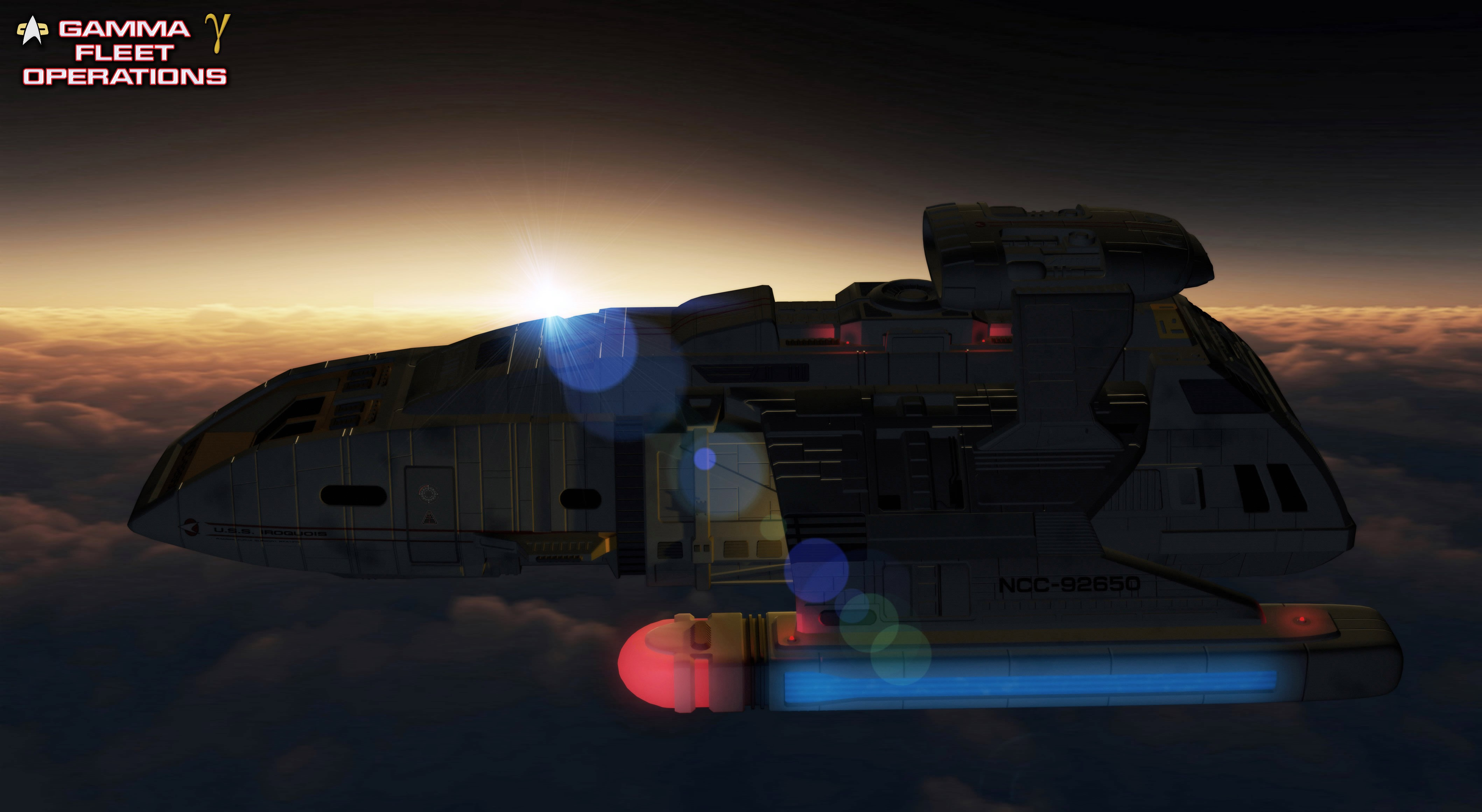 USS Iroquois by unusualsuspex