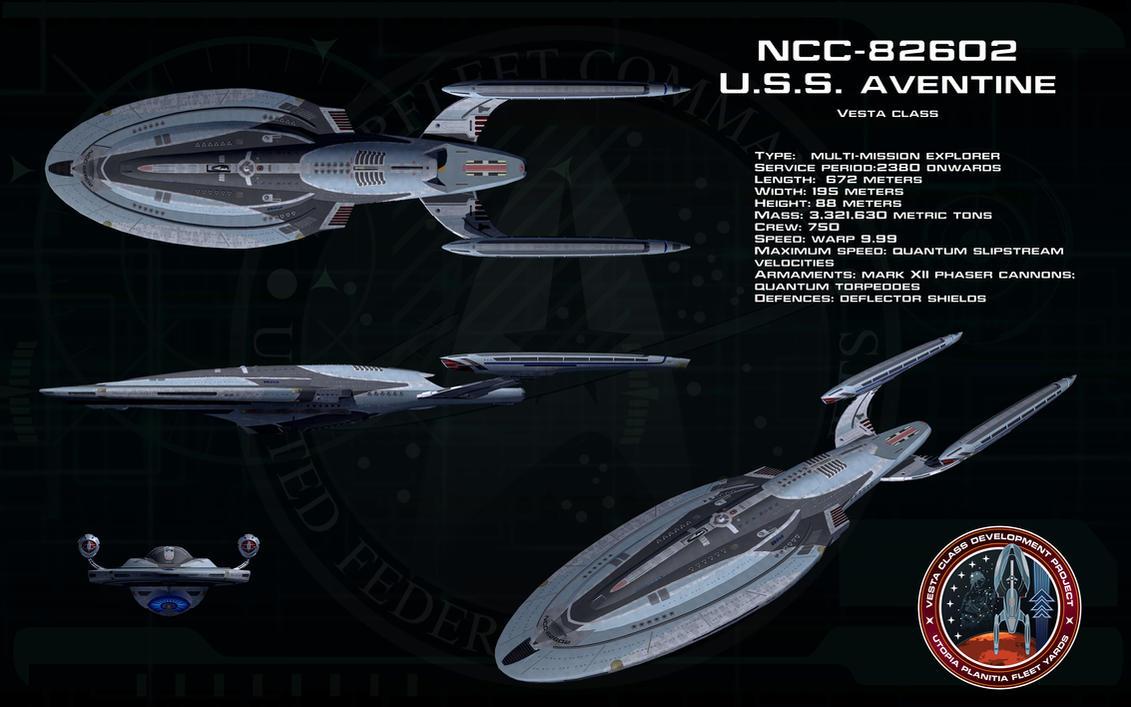 Vesta class ortho - USS Aventine by unusualsuspex