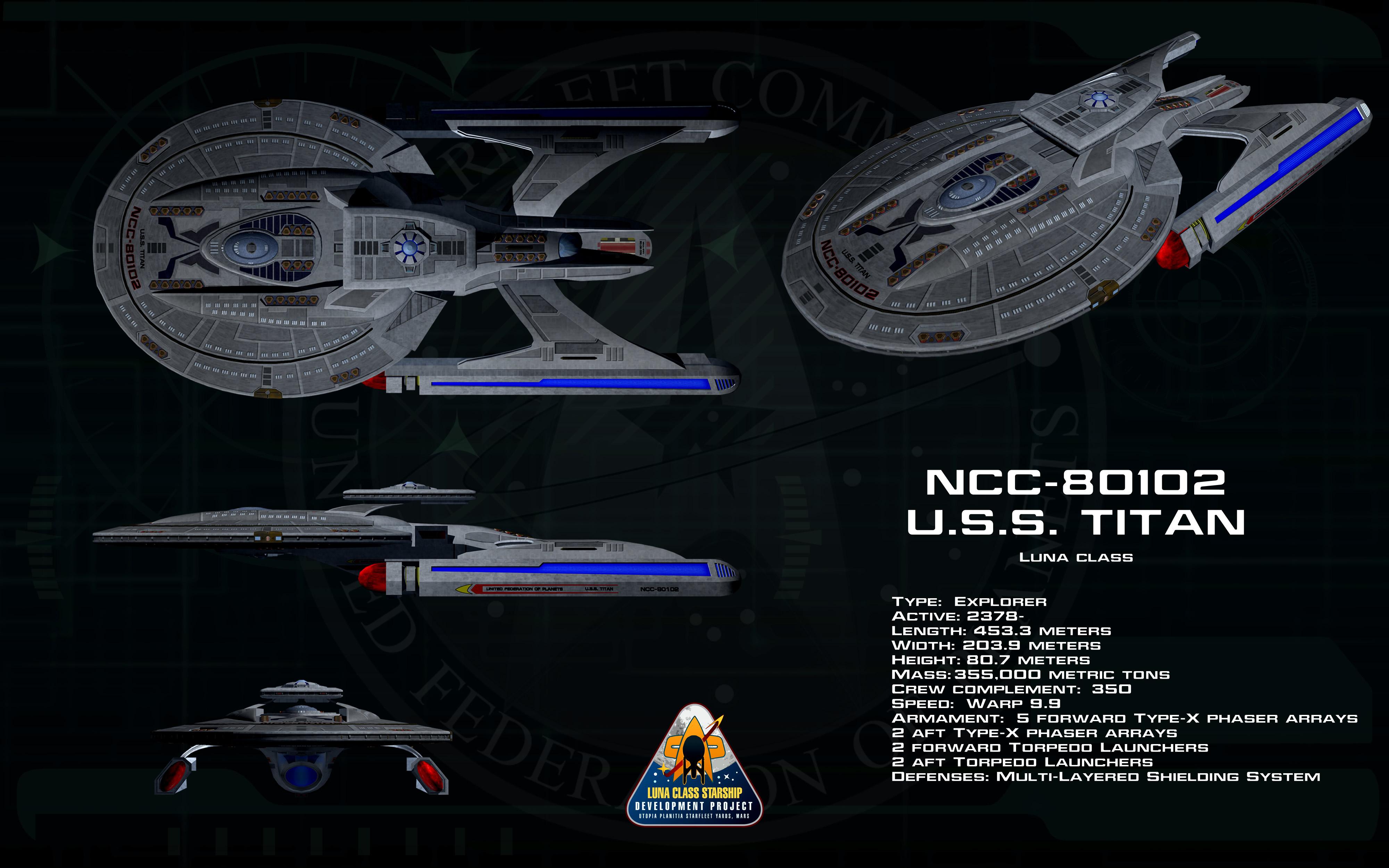 Luna class ortho - USS Titan by unusualsuspex on DeviantArt