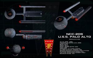 Daedalus class ortho - USS Palo Alto by unusualsuspex