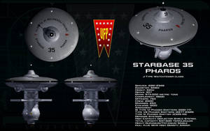 Watchtower class ortho - Starbase Pharos by unusualsuspex