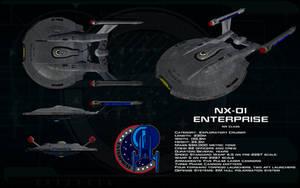 NX class ortho - NX-01 Enterprise by unusualsuspex