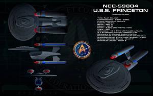 Niagara class ortho - USS Princeton by unusualsuspex
