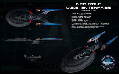 Sovereign class ortho - USS Enterprise 1701-E