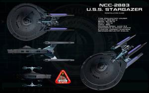 Constellation class ortho - USS Stargazer by unusualsuspex