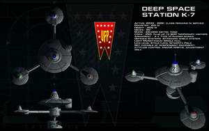 Deep Space Station K-7 ortho by unusualsuspex