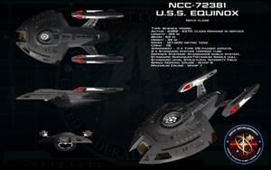 Nova class ortho - USS Equinox by unusualsuspex