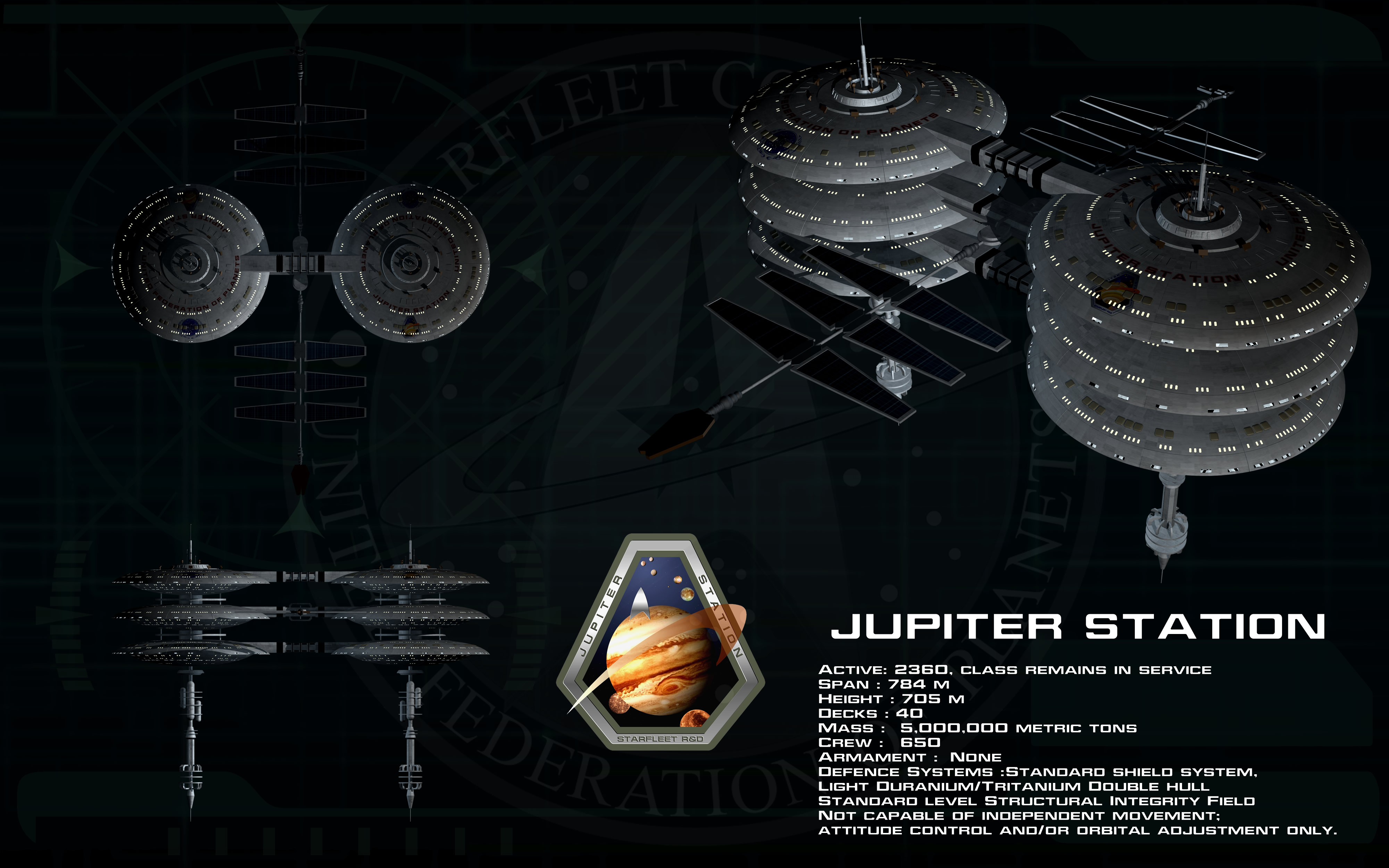 Jupiter Station ortho by unusualsuspex