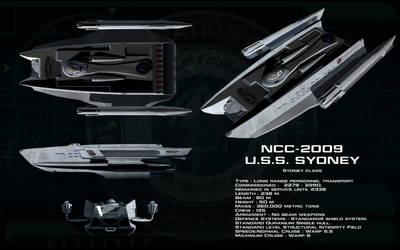 Sydney class ortho - USS Sydney by unusualsuspex