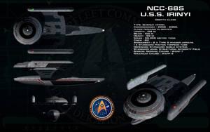 Oberth class ortho - USS Irinyi by unusualsuspex