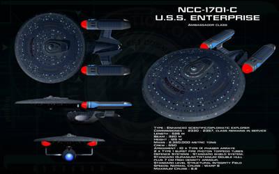 Ambassador class ortho - USS Enterprise - C by unusualsuspex