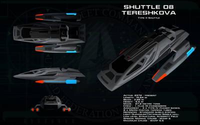 Type 11 Shuttlecraft ortho - Tereshkova by unusualsuspex