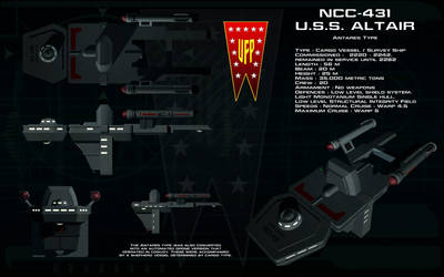 Antares type ortho - USS Altair by unusualsuspex
