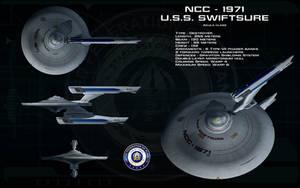 Akula class ortho - USS Swiftsure by unusualsuspex