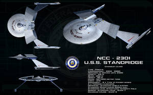 Chandley class ortho - USS Standridge by unusualsuspex