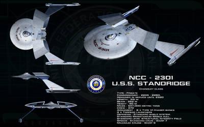 Chandley class ortho - USS Standridge by unusualsuspex