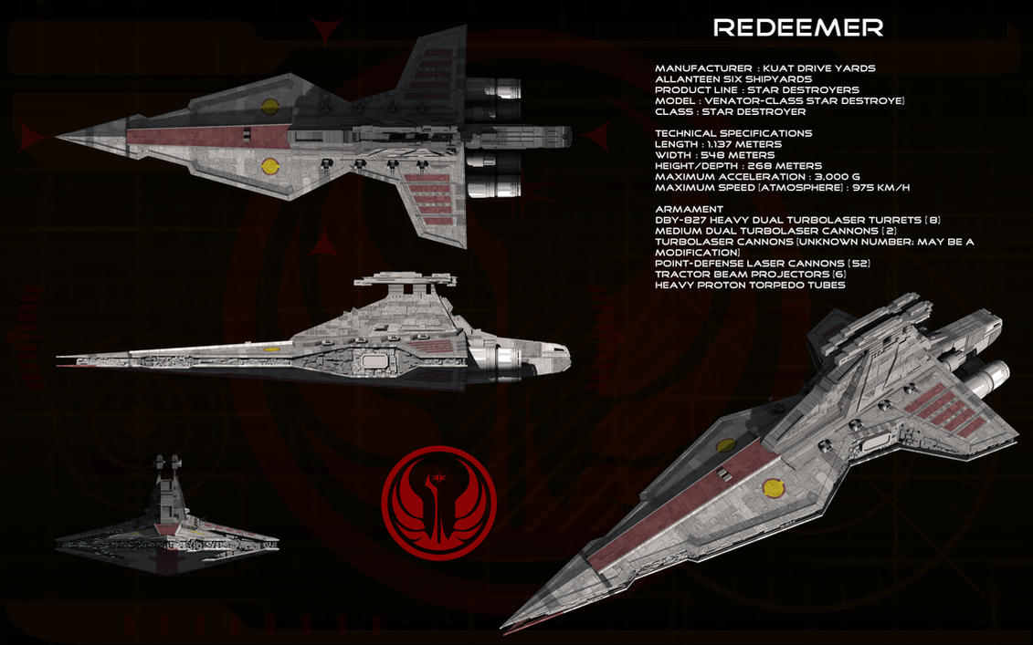 Venator class ortho - Redeemer by unusualsuspex