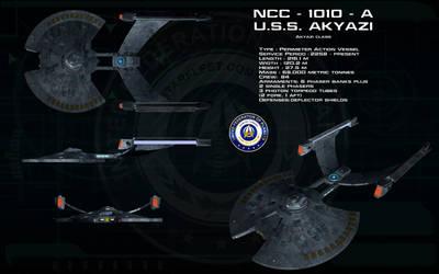 Akyazi class ortho - USS Akyazi by unusualsuspex