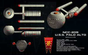 Daedalus class ortho - USS Palo Alto (Updated) by unusualsuspex