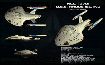Nova variant ortho - USS Rhode Island (Updated) by unusualsuspex