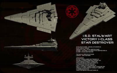 Victory-I Star Destroyer ortho - ISD Stalwart