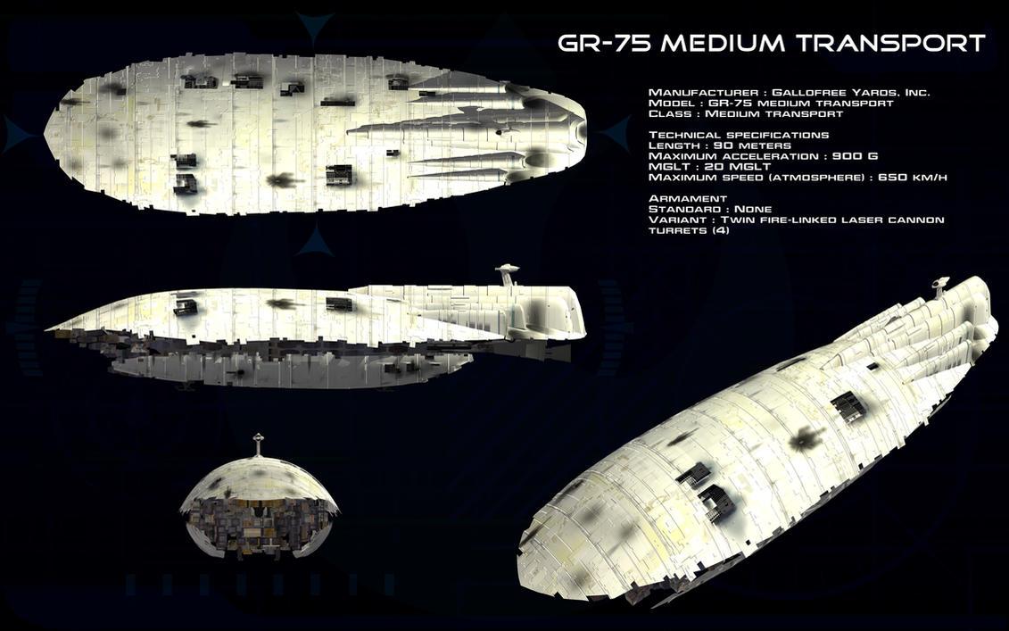 GR-75 Medium Transport ortho by unusualsuspex