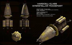 TechnoUnion Ship Hardcell-class ortho by unusualsuspex