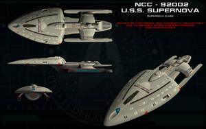 Supernova class ortho - USS Supernova by unusualsuspex