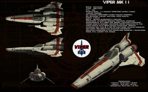 Colonial Viper Mk II ortho by unusualsuspex