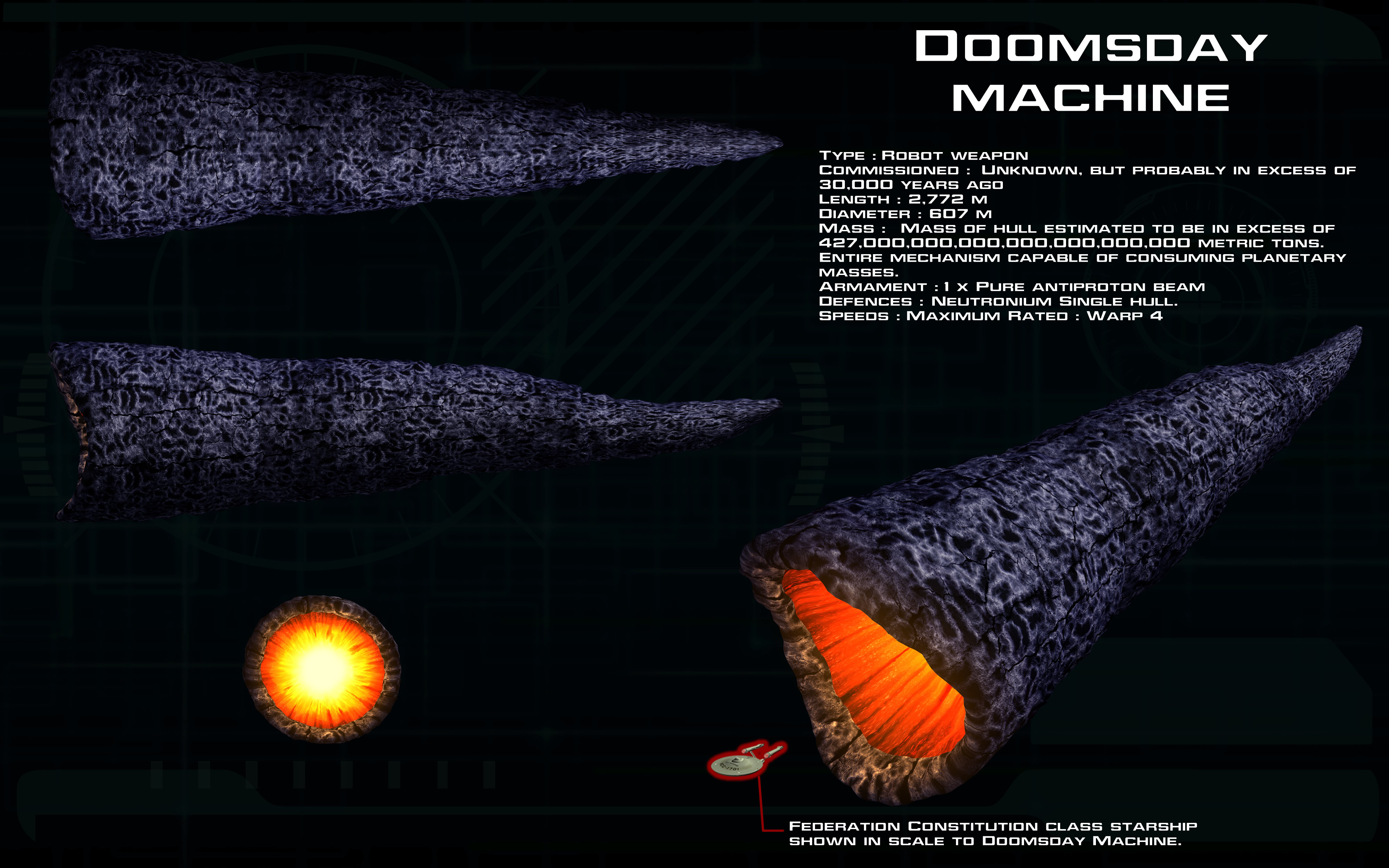 trek doomsday machine remastered episode