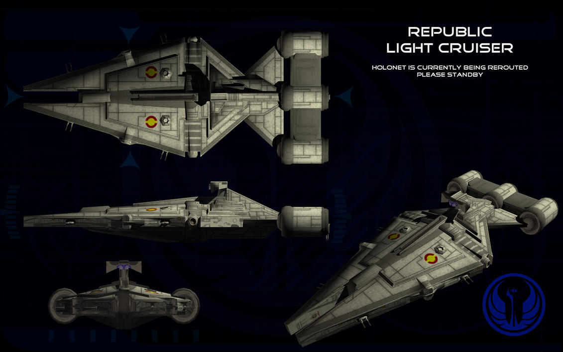 Republic Arquitens Light Cruiser Ortho By Unusualsuspex On
