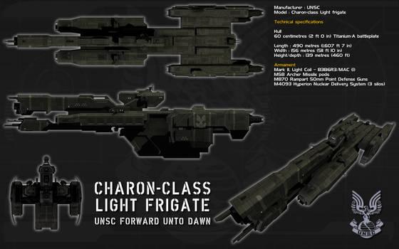 Charon class light frigate ortho