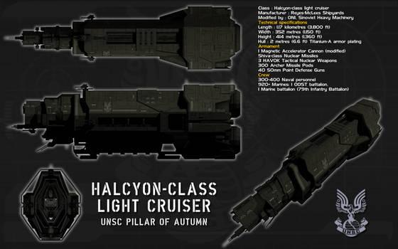Halcyon class Light Cruiser