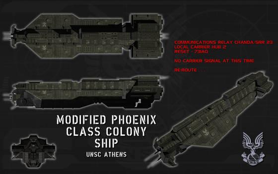 Modified Phoenix Class Colony ship ortho (2)