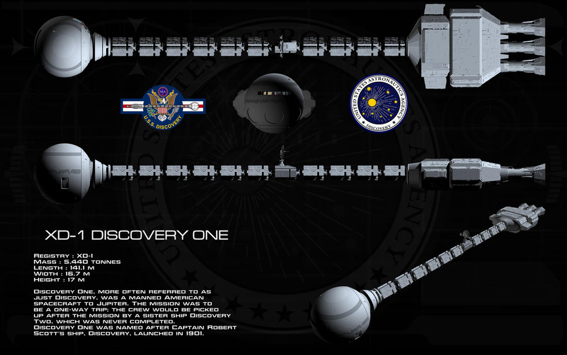 Discovery 1 ortho by unusualsuspex on DeviantArt
