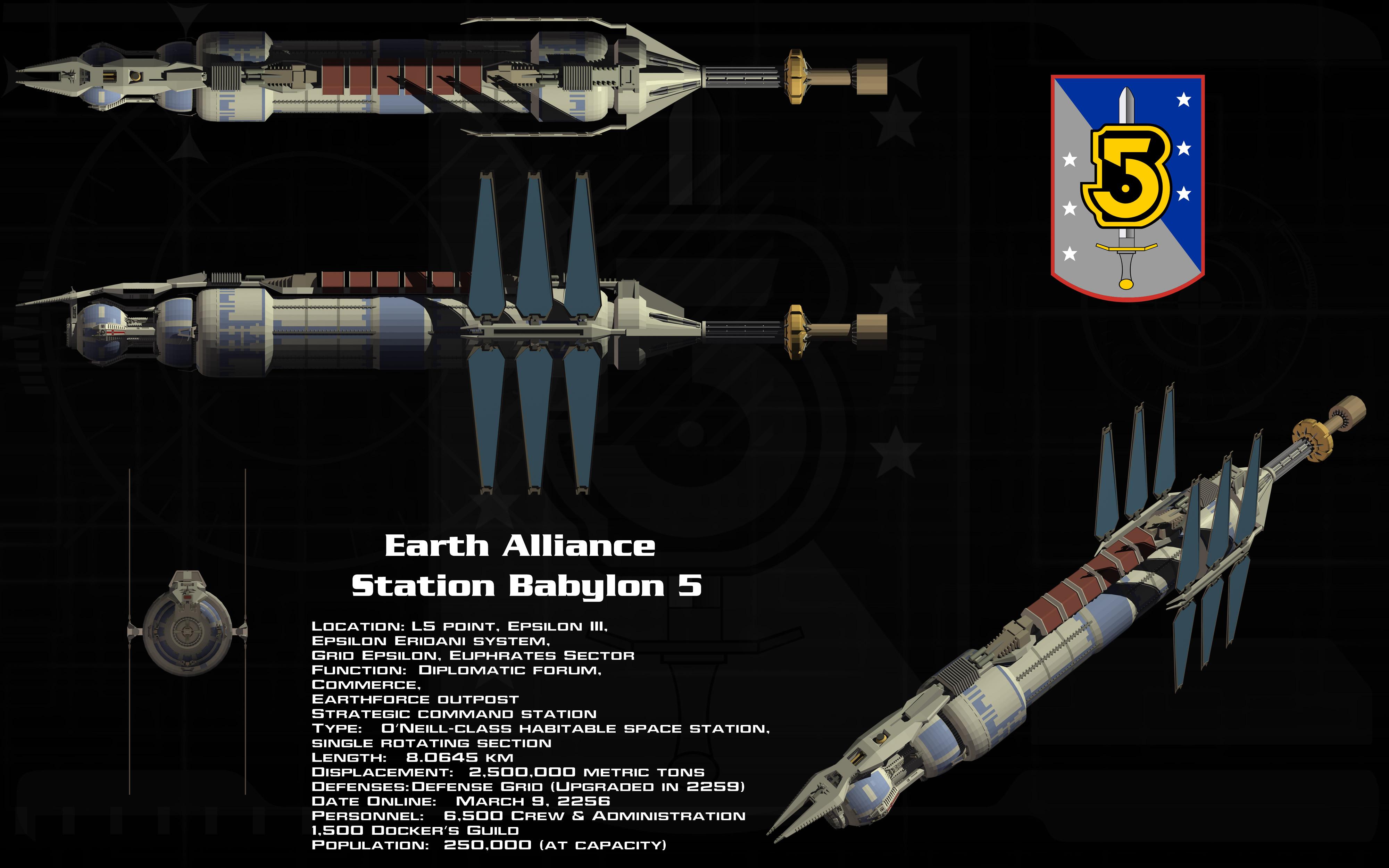 Babylon 5 Station Ortho By Unusualsuspex On DeviantArt