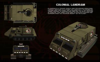 Colonial Landram ortho by unusualsuspex
