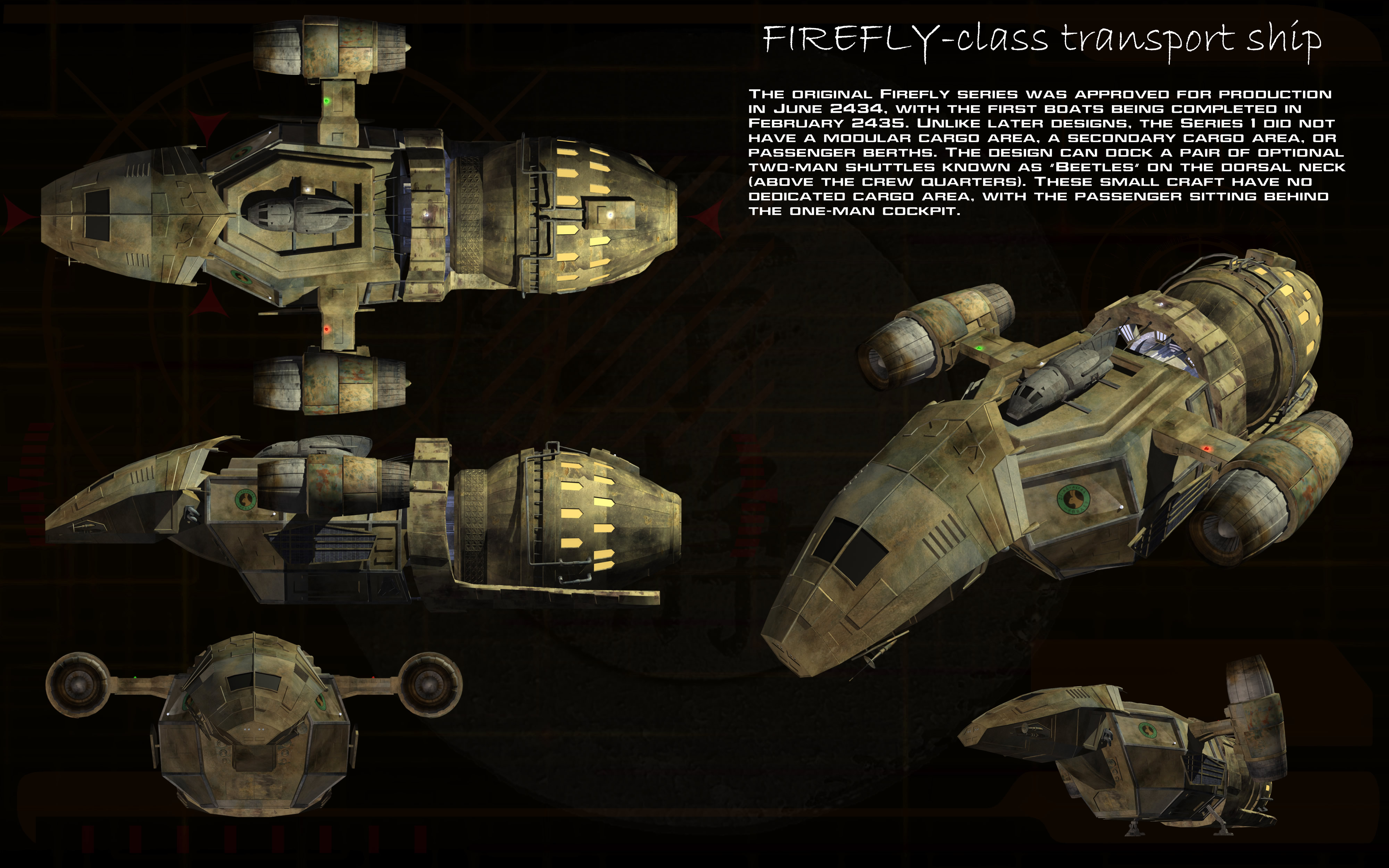 Firefly Class Series 1 Transport Ortho By Unusualsuspex On