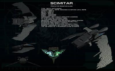 Scimitar class prototype ortho by unusualsuspex