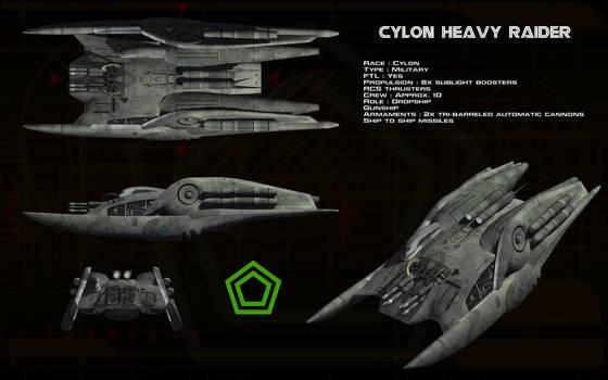Cylon Heavy Raider ortho