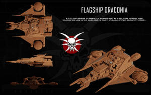 Draconian flagship 'Draconia' ortho by unusualsuspex