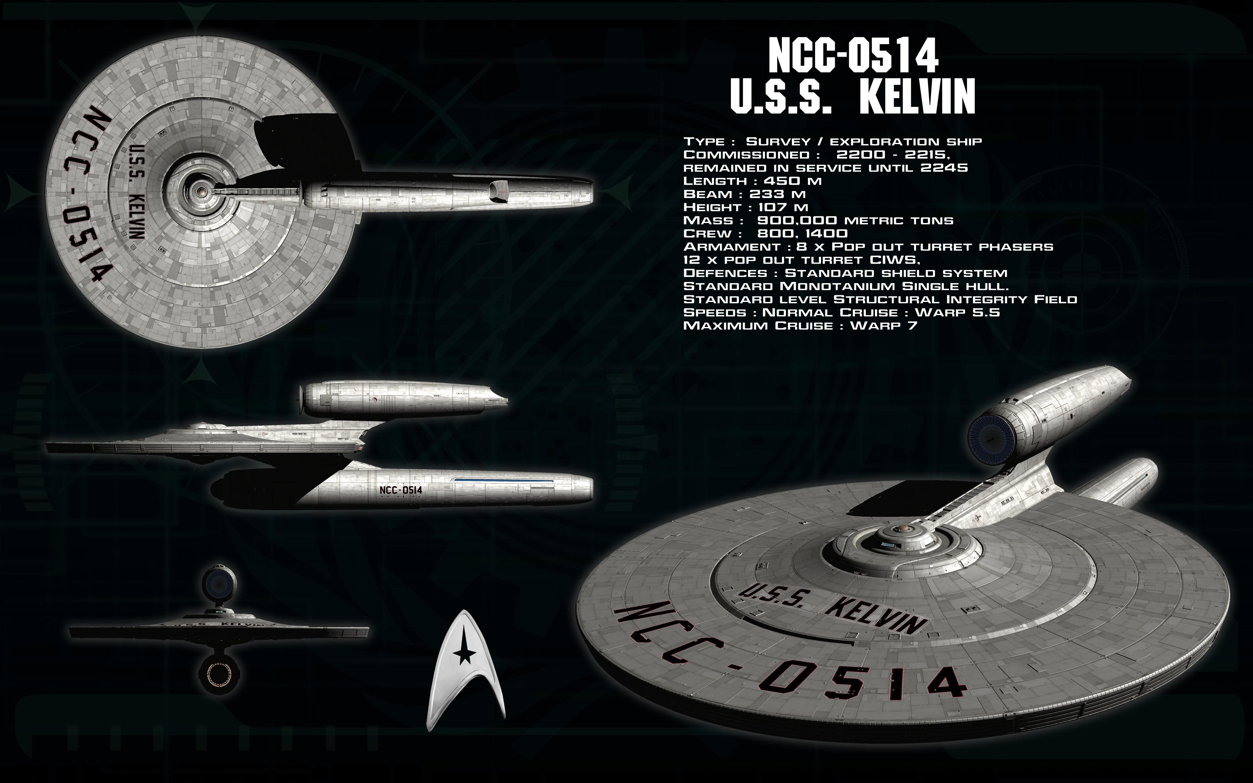 Kelvin type USS Kelvin ortho by unusualsuspex on DeviantArt