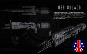 USS Sulaco ortho by unusualsuspex