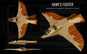 Hawk's Fighter ortho by unusualsuspex