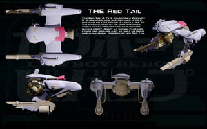 Red Tail ortho by unusualsuspex