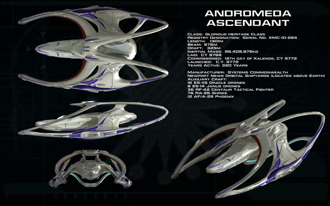 andromeda ascendant the new systems