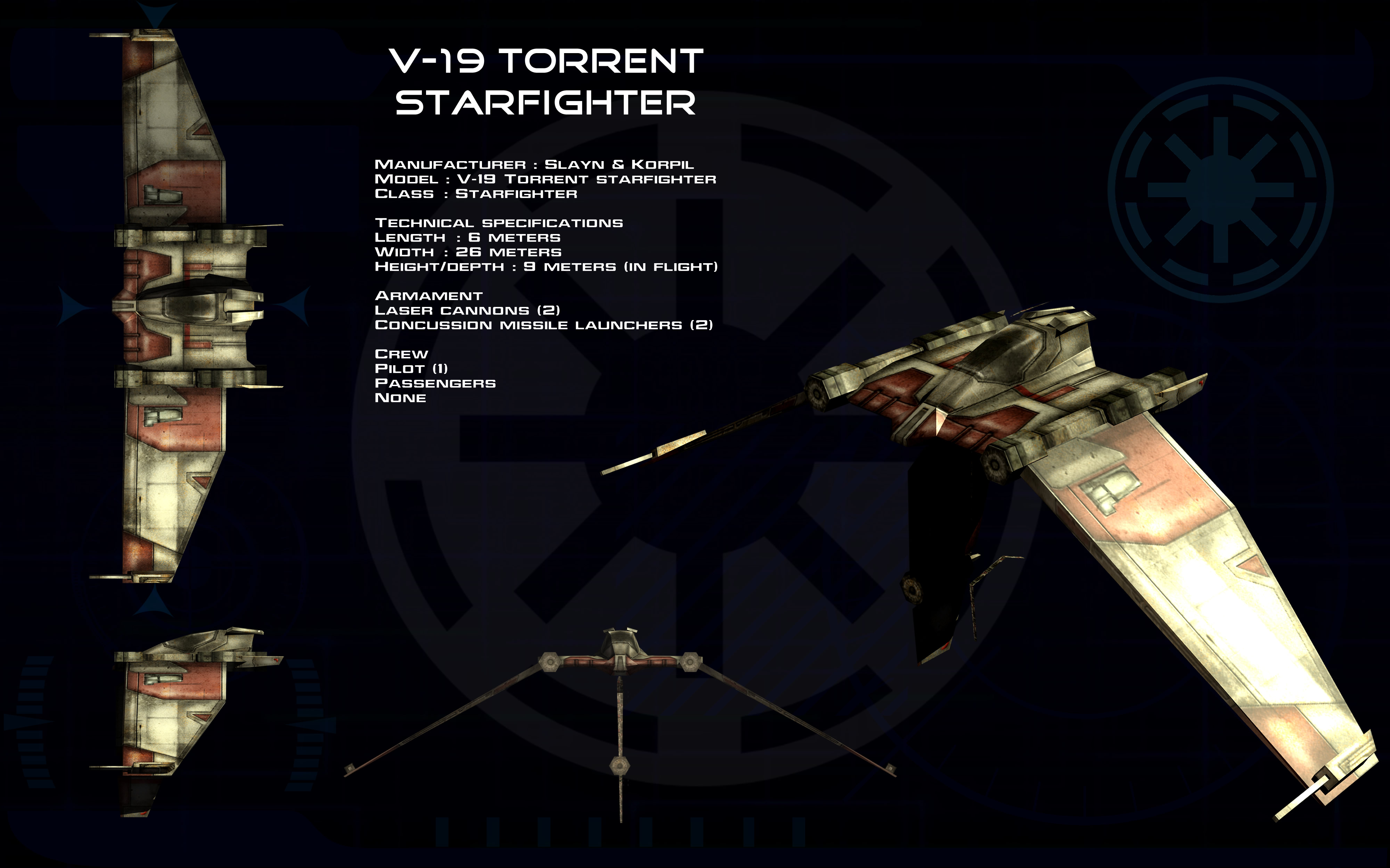v 19 torrent starfighter ortho by unusualsuspex on deviantart. Black Bedroom Furniture Sets. Home Design Ideas