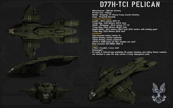 D77H-TCI Pelican ortho